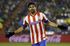 Futbol Diego Costa Spor Kanvas Tablo