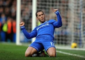 Futbol Eden Hazard Chelsea Spor Kanvas Tablo