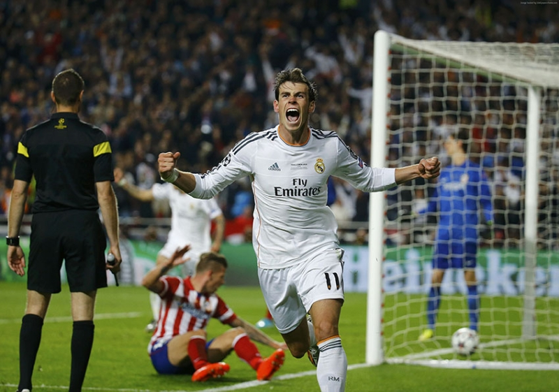 Futbol Gareth Bale Real Madrid Spor Kanvas Tablo