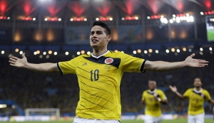 Futbol James Rodriguez 2 Spor Kanvas Tablo
