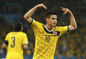 Futbol James Rodriguez Spor Kanvas Tablo
