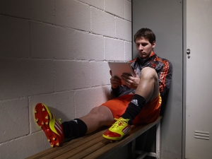 Futbol Lionel Messi Adidas Spor Kanvas Tablo