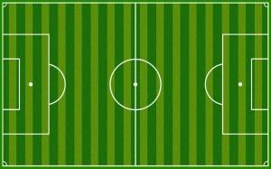 Futbol Sahası Spor Kanvas Tablo