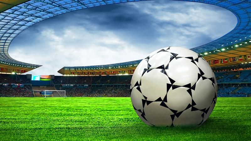 Futbol Stadyum 4 Spor Kanvas Tablo