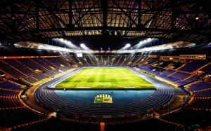 Futbol Stadyum Spor Kanvas Tablo