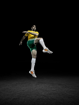 Futbolcu Fotoğraf Kanvas Tablo