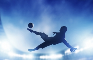 Futbolcu Spor Kanvas Tablo