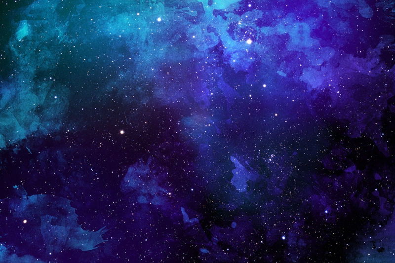 Galaksi 4 Dünya & Uzay Kanvas Tablo