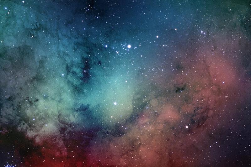Galaksi 6 Dünya & Uzay Kanvas Tablo