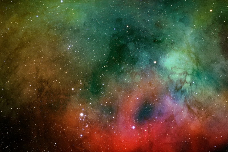 Galaksi 9 Dünya & Uzay Kanvas Tablo
