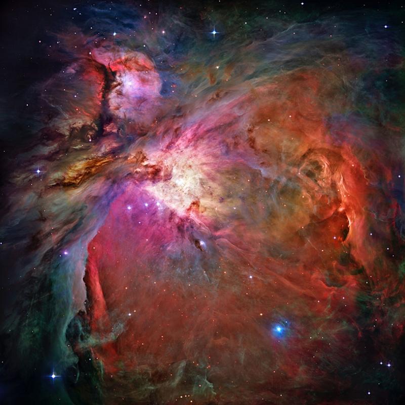 Galaksi Yağlı Boya Sanat Kanvas Tablo