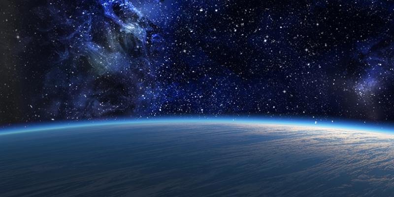 Galaksi Yıldızlar Kanvas Tablo