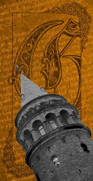 Galata Kulesi İstanbul Arttablo Exclusive Kanvas Tablo