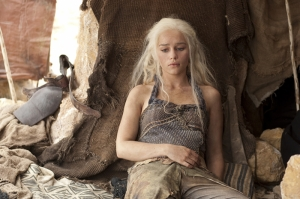 Game of Thrones Kaleesi Kanvas Tablo