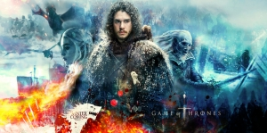 Game Of Thrones Poster-2 Kanvas Tablo