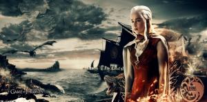Game Of Thrones Poster-3 Kanvas Tablo