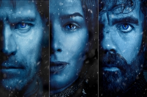 Game Of Thrones Poster-4 Kanvas Tablo