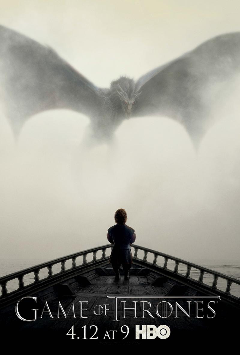 Game Of Thrones Poster Popüler Kültür Kanvas Tablo