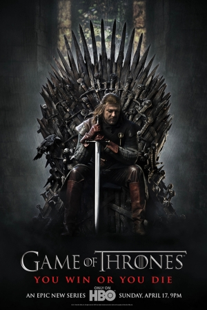 Game Of Thrones You Win Or You Die Film Afişi Sinema Kanvas Tablo