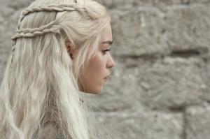 Game Of ThronesDaenerys Targaryen Kanvas Tablo