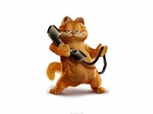 Garfield Kedi Bebek & Çocuk Dünyası Kanvas Tablo