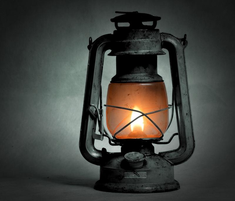 Gaz Lambası Popüler Kültür Kanvas Tablo