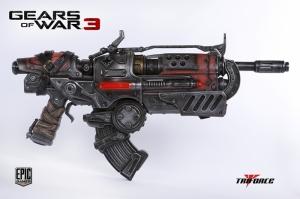 Gear War 3 Silah Süper Kahramanlar Kanvas Tablo