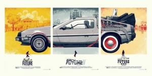 Geleceğe Dönüş Poster Film Popüler Kültür Kanvas Tablo 2