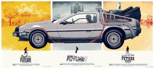 Geleceğe Dönüş Poster Film Popüler Kültür Kanvas Tablo
