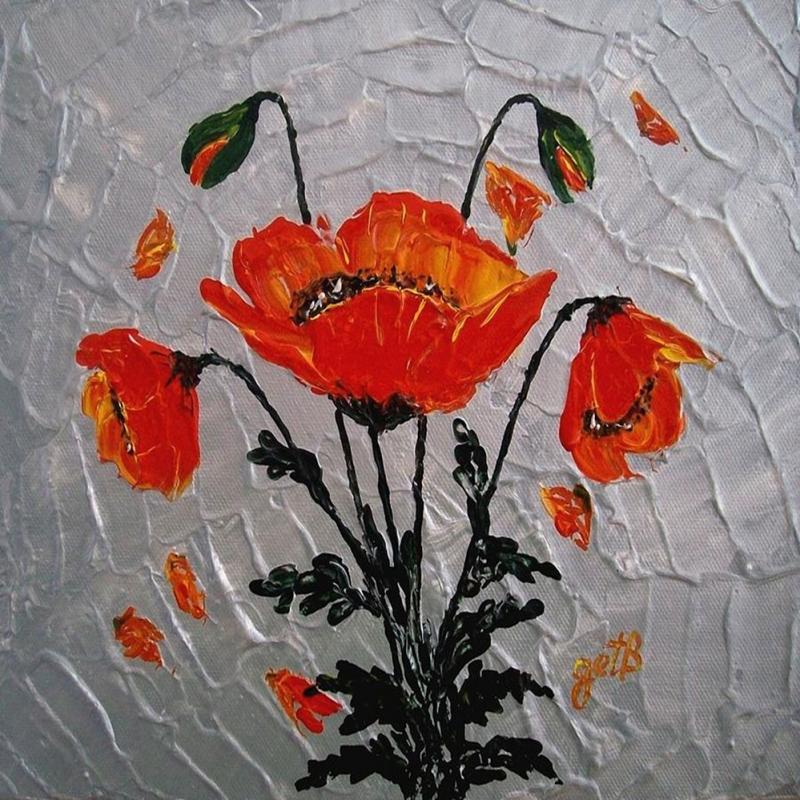 Gelincik 2 Dekoratif Kanvas Tablo