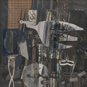 Georges Braque Stüdyo Soyut Yağlı Boya Klasik Sanat Canvas Tablo