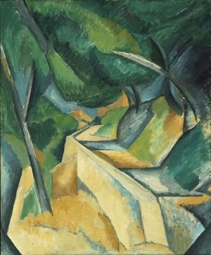 Georges Braque Yol Soyut Yağlı Boya Klasik Sanat Kanvas Tablo