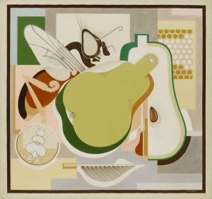 Gerald Murphy Armut Soyut Yağlı Boya Klasik Sanat Kanvas Tablo