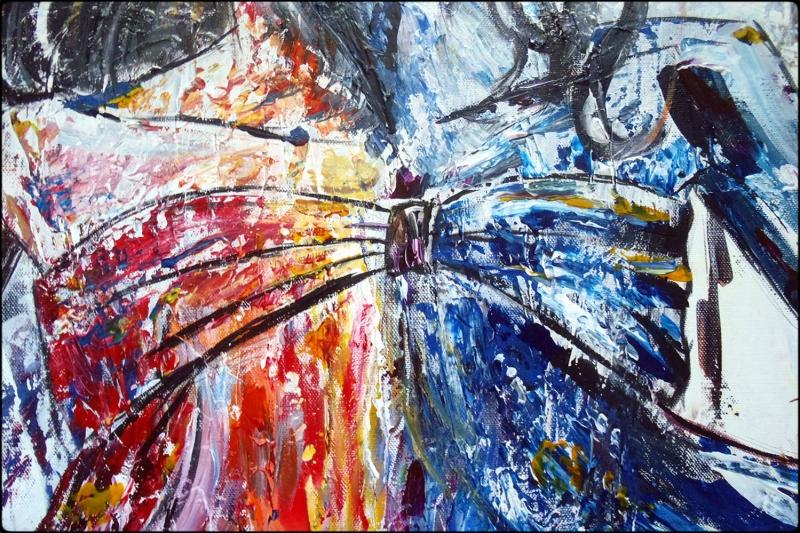 Gerçek Renkler Bayan Portre 2 Yağlı Boya Sanat Kanvas Tablo