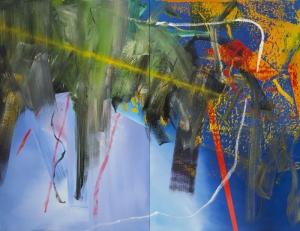 Gerhard Richter Bulutlar Soyut Yağlı Boya Klasik Sanat Canvas Tablo