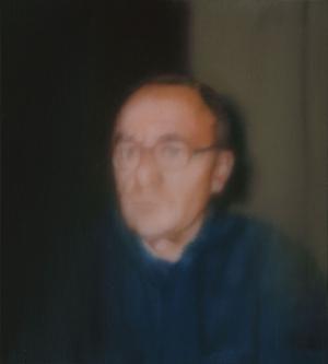 Gerhard Richter Kendi Portresi Soyut Yağlı Boya Klasik Sanat Kanvas Tablo
