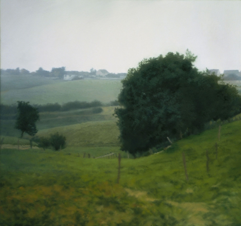 Gerhard Richter Manzara Soyut Yağlı Boya Klasik Sanat Kanvas Tablo