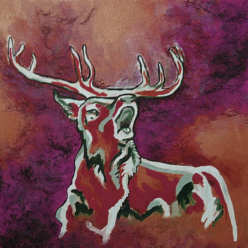 Geyik-309 Hayvanlar Modern Sanat Kanvas Tablo
