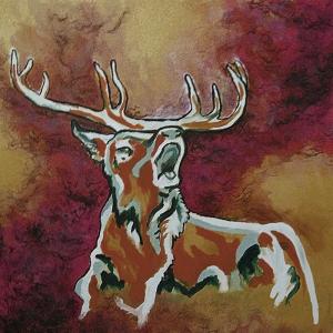 Geyik-38 Hayvanlar Modern Sanat Kanvas Tablo
