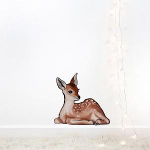 Geyik-40 Hayvanlar Modern Sanat Kanvas Tablo