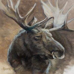 Geyikler Vahşi Hayvanlar-99, Geyik Temalı Kanvas Tablo