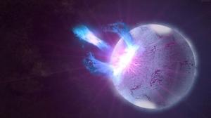 Gezegende Patlama Anı Dünya & Uzay Kanvas Tablo