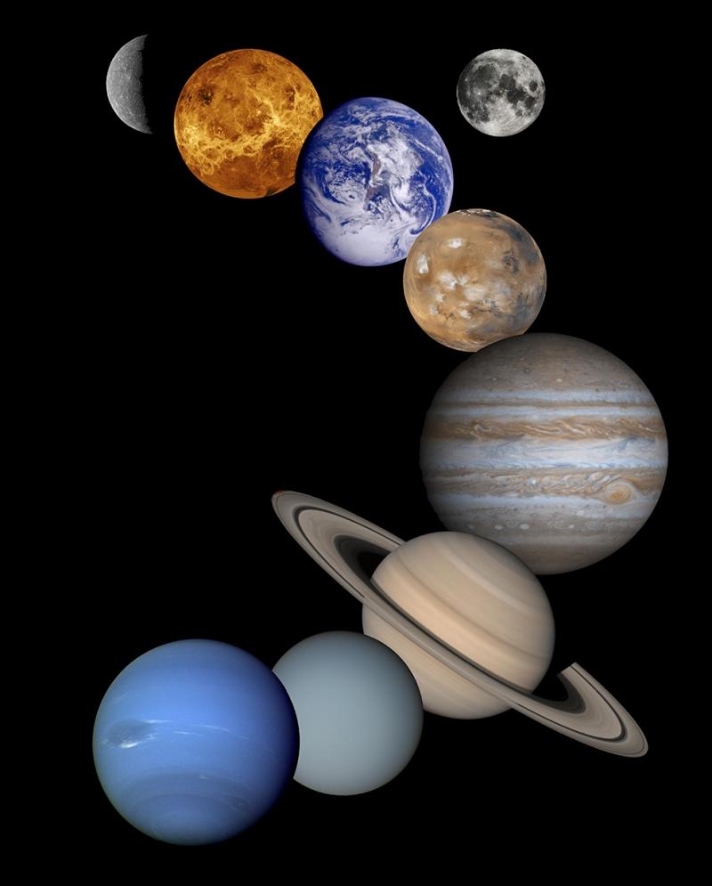 Gezegenler 3 Dünya & Uzay Kanvas Tablo