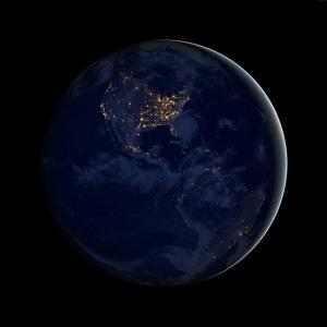 Gezegenler Uzay Yıldızlar Galaxy 15 Dünya & Uzay Kanvas Tablo
