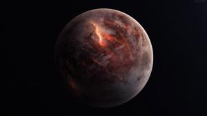 Gezegenler Uzay Yıldızlar Galaxy 2 Dünya & Uzay Kanvas Tablo