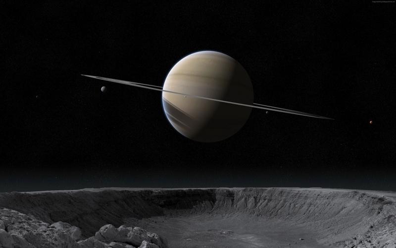 Gezegenler Uzay Yıldızlar Galaxy 4 Dünya & Uzay Kanvas Tablo