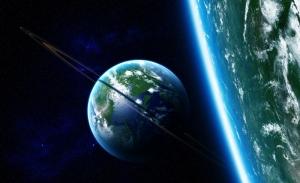 Gezegenler Uzay Yıldızlar Galaxy 7 Dünya & Uzay Kanvas Tablo