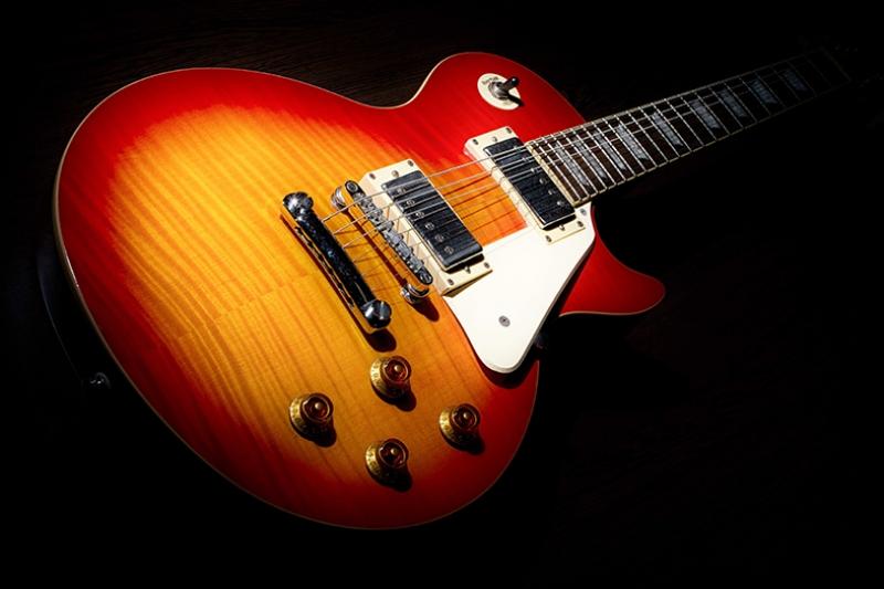 Gibson Gitar Müzik Kanvas Tablo