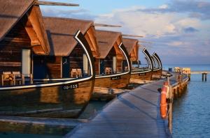 Gili Lankanfushi Maldivler Doğa Manzaraları Kanvas Tablo