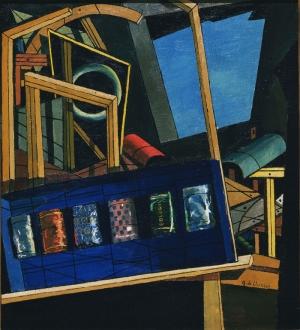 Giorgio De Chirico 2 Soyut Yağlı Boya Klasik Sanat Kanvas Tablo
